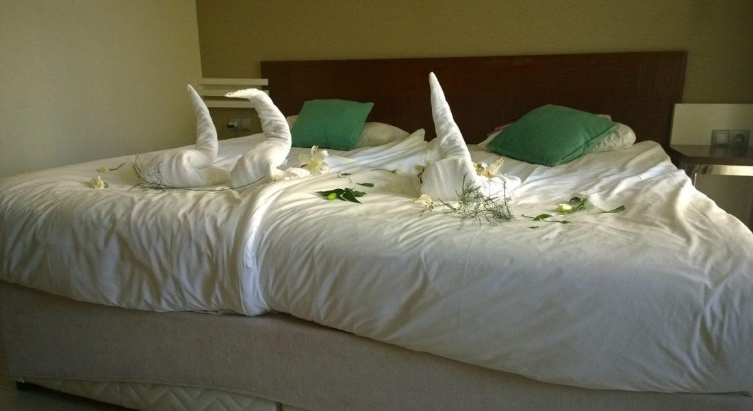 Schlafdecke ohne Steppung