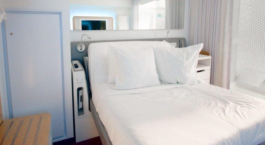Modulmatratzemit einem Bett