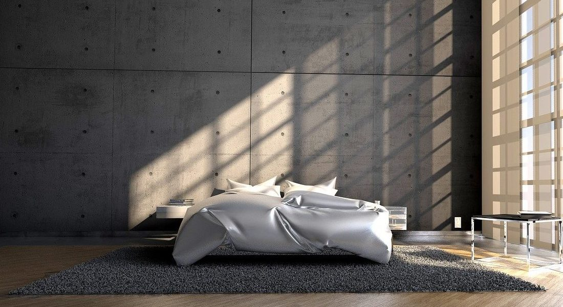 Otto Bett in einem modernen Raum